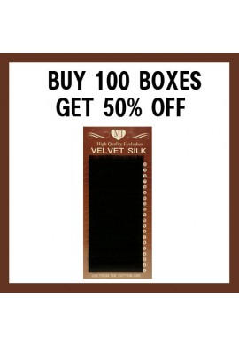 VELVET SILK EYELASH BUY 100 GET 50% OFF