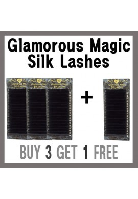 GLAMOROUS MAGIC  SILK LASHES 3+1