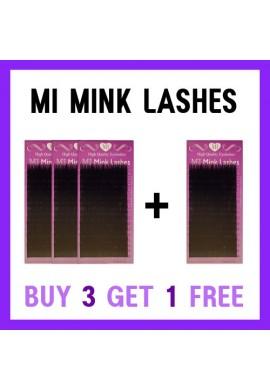 MI MINK LASHES 3+1