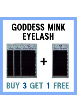 GODDESS MINK EYELASH 3+1
