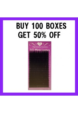 MI MINK LASHES BUY 100 GET 50% OFF