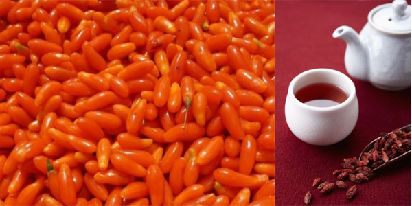 The goji berries tea can maintain eye health for eyelash extensions technicians.