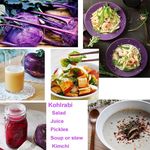 kohlrabi foods