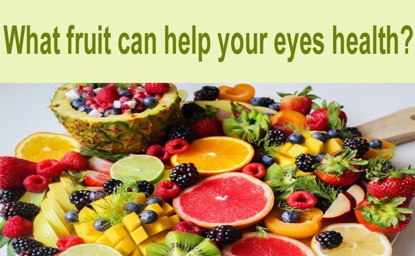 What fruit can help your eyes health?